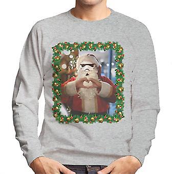 Original Stormtrooper Trooper Santa Christmas Men's Sweatshirt