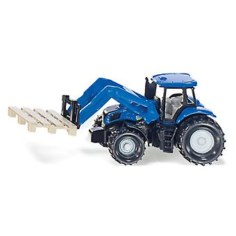 Siku 1487 New Holland Tractor + Pallet