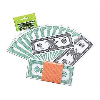 $ Dinheiro falso.