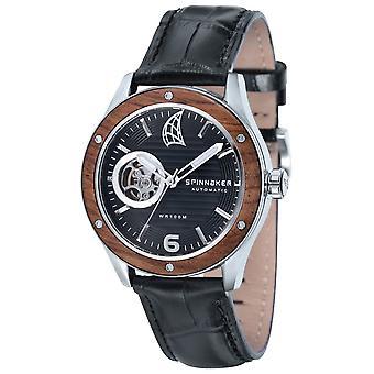 Spinnaker Sorrento Chronograph Watch - Black/Brown