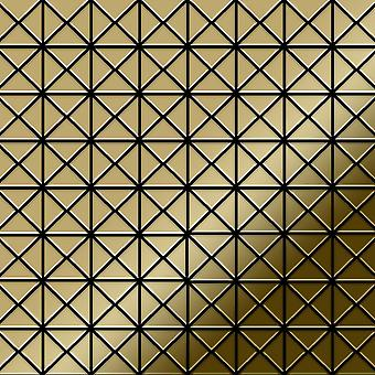 Metal mosaik Titanium Alloy Deco-Ti-GM