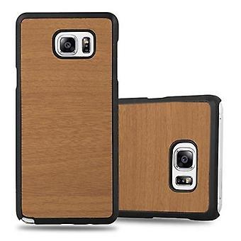Cadorabo Hülle für Samsung Galaxy NOTE 5 Case Cover - Hardcase Handyhülle aus Plastik gegen Kratzer und Stöße – Schutzhülle Bumper Ultra Slim Back Case Hard Cover