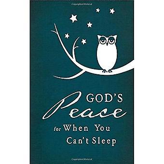 Pace di Dio quando non riesci a dormire