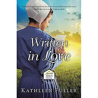 Écrit en amour (un roman lettres Amish)