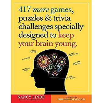 417 plus de jeux, Puzzles & Trivia défis spécialement conçus pour garder votre cerveau jeune