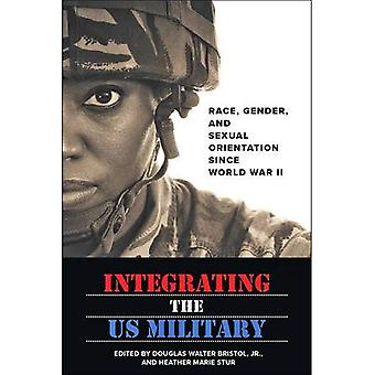 Integrating the Us Military: Race, Gender, and � Sexual Orientation Since World War II