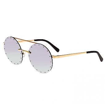 Bertha Harlow Polarized Sunglasses - Gold/Purple