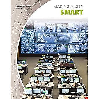 Waardoor een stad slimme (binnen de moderne steden)