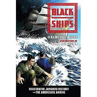 Svart fartyg: Illustrerad japansk historia. Amerikanerna anländer