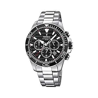 Festina Chronograph quartz men's Watch with stainless steel band F20361/4