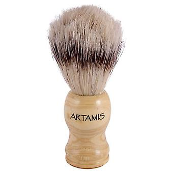 Artamis Bristle Shaving Brush Wooden Handle