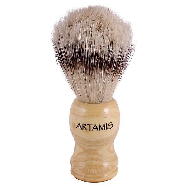 Artamis Bristle Shaving Brush Wooden Handle