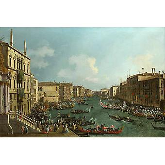 Régate sur la Canale Grande, Canaletto, 60x40cm
