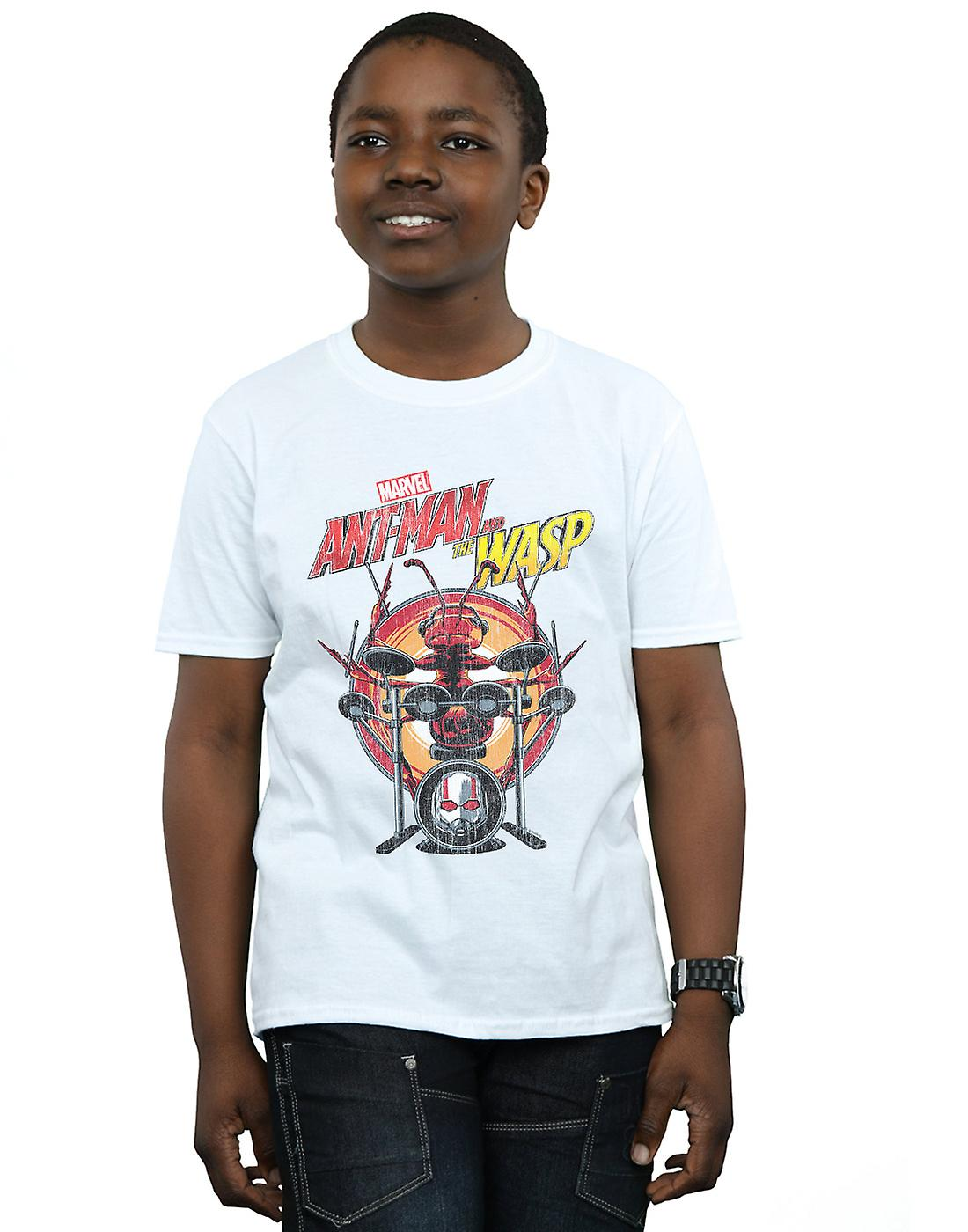 Marvel Boys Ant-Man And The Wasp Drummer Ant T-Shirt