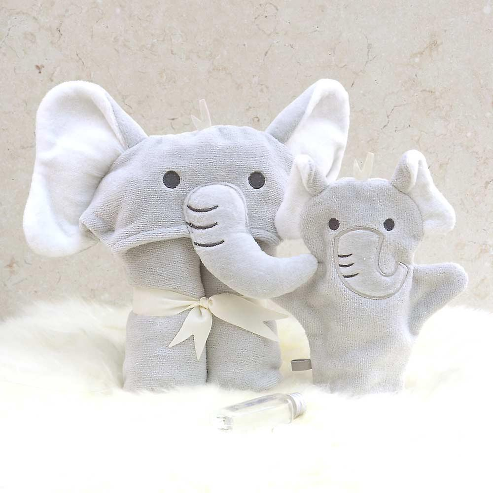 Humphrey Elephant baby towel gift set