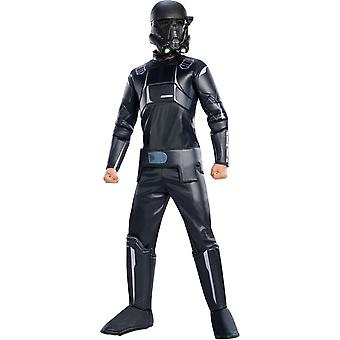 Død Trooper barn kostume
