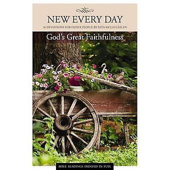 God's Great Faithfulness - 30 Devotions for Older People by Rita McLau