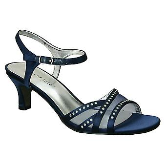 David Tate Womens Violet Open Toe Special Occasion Ankle Strap Sandals