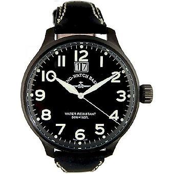 Zeno-watch mens watch Super Oversized black 6221-7003Q-bk-a1