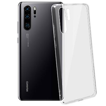 Tough rear clear case + shock absorbing silicone bumper for Huawei P30 Pro