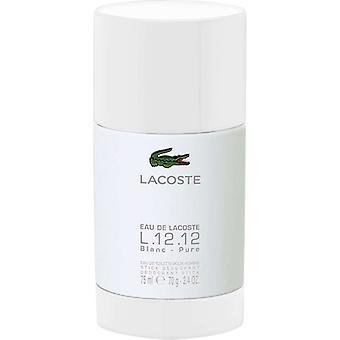 Lacoste Eau de Lacoste L. 12,12 Blanc deostick 75ml