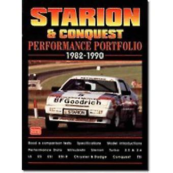 Starion and Conquest Performance Portfolio 1982-1990 by R. M. Clarke
