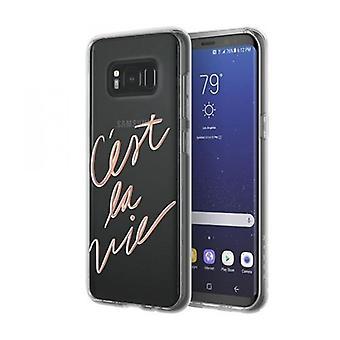Incipio Design serie Glam Samsung Galaxy S8 c'est La Vie