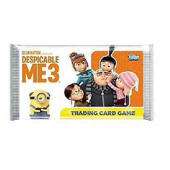 Topps Despicable Me 3 Trading Card Game (1 Booster Pack)