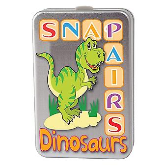 Cheatwell Games Snap paires - dinosaures