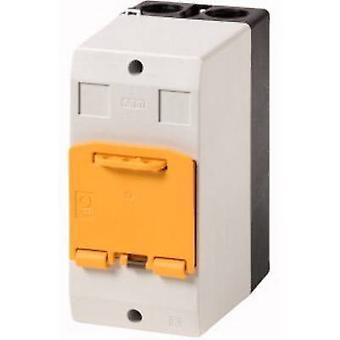 Eaton CI-PKZ01-SVB Enclosure Surface mount, Afsluitbaar (L x W x H) 80 x 97 x 160 mm grijs, geel 1 pc(s)