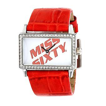 Miss Sixty Square Red Watch SJ9002