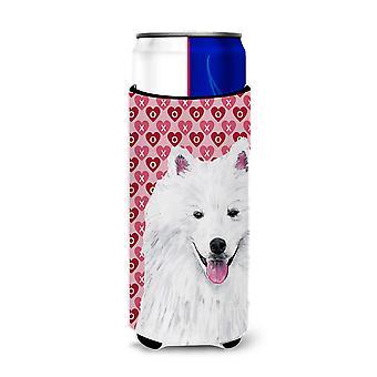 American Eskimo corações amor e Valentine ' s dia retrato ultra bebida insulato