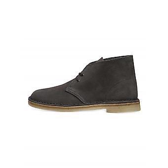 Clarks Originals Slate Grey Suede Desert Boot