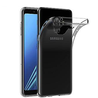 Samsung J8 Siliconen Hoesje Transparant - CoolSkin3T