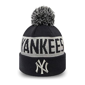 New Era Kinder Wintermütze Bobble Beanie New York Yankees