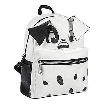 Cerd Mochila Fashion Disney 101 Dalmatas Backpack Casual - 25 cm - White (blanco)
