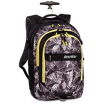 Bestway Bestway Rucksacktrolley Casual Backpack - 44 cm - 21 liters - Multicolor (Schwarz/Gelb)