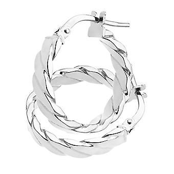 Citerna Women's Ring Earrings - White Gold - 9 cts 375