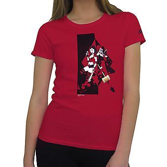 Harley Quinn Back to Back Women's Camiseta