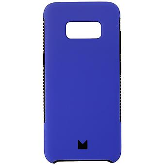 Modal Dual Layer Protective Case for Samsung Galaxy S8+ (Plus) -Matte Blue/Black