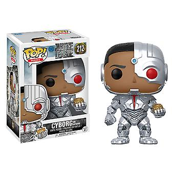 Justice League Movie Cyborg and Mother Box US Pop! Vinyl