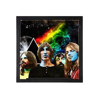 Glass vision-painting-art glass-Pink Floyd Design Per Siwmark