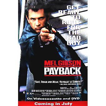 Payback (Video) (1999) Original Video Poster