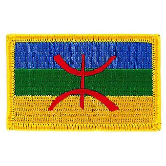 Patch Ecusson Brode vlag Kabylie Kabyle Algerie Thermocollant insigne Blason