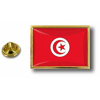 Pins Pin Badge Pin's Metal  Avec Pince Papillon Drapeau Tunisie Tunisien
