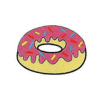 Patch Ecusson brode flagga ryggsäck Donuts Thermocollant