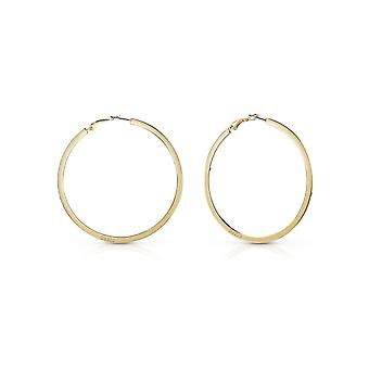 Guess Jewellery Guess Hoops I Did It Again Gold Earrings UBE84072