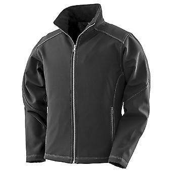 Result Womens/Ladies Work-Guard Softshell Jacket