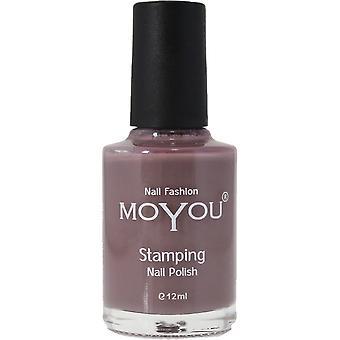 MoYou Stamping Nail Art - Special Nail Polish - Grey Skies 12ml