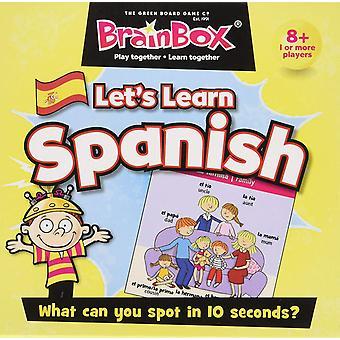 BrainBox Let's Learn Spanish (55 cards)